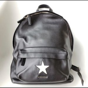Rare Authentic Givenchy Star Leather Backpack